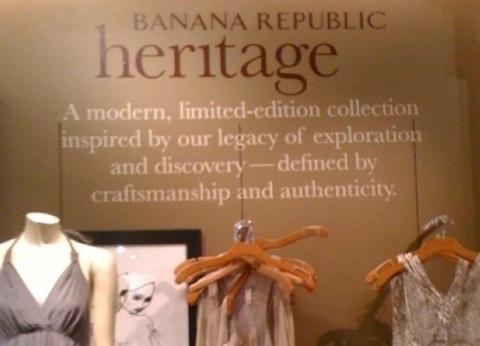 Banana Republic Heritage